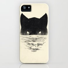 Wolfy iPhone (5, 5s) Slim Case