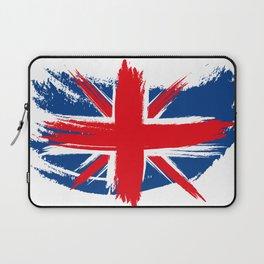 Sketched Union Jack Laptop Sleeve