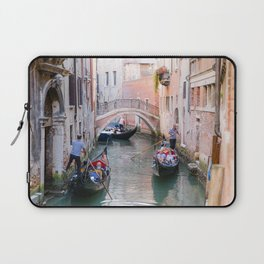 Exploring Venice by Gondola Laptop Sleeve