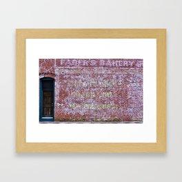 Faber's Bakery Framed Art Print