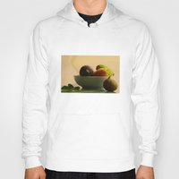 fruits Hoodies featuring Mixed Fruits  by Tanja Riedel