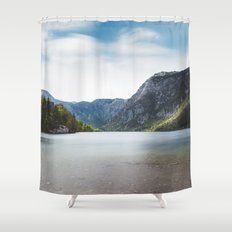 Lake Bohinj, Slovenia Shower Curtain