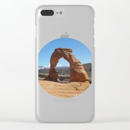 Moab Arches National Park Clear iPhone Case