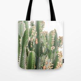 Giant Cactus Tote Bag
