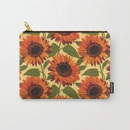 Venidium Orange Monarch of The Veldt Flower Carry-All Pouch