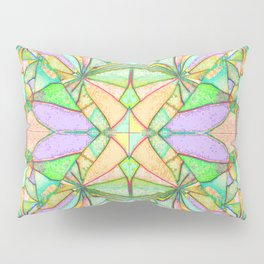 217 - Abstract distressed colourful design Pillow Sham