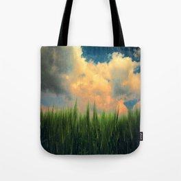 barley field Tote Bag