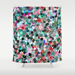 Stones and Stars. Shower Curtain