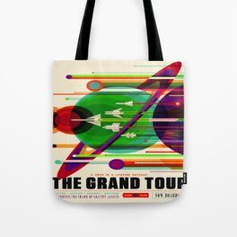 Vintage poster - The Grand Tour Tote Bag