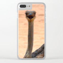 Ostrich Valencia Clear iPhone Case