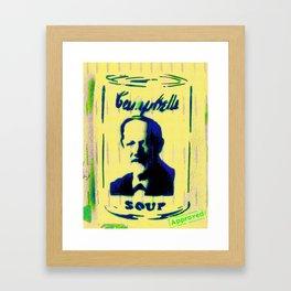 Campbell's Soup Tribute Framed Art Print
