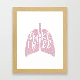Smoke Free Framed Art Print