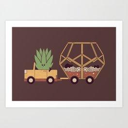 Terravan Art Print