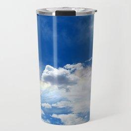 Clouds and rainbow Travel Mug