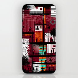 Street Life iPhone Skin