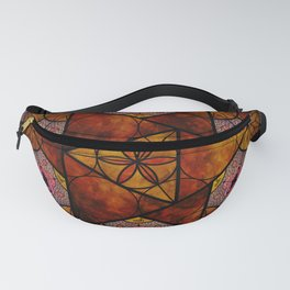Sacred Geometry for your daily life -  Platonic Solids - IGNIS Fanny Pack