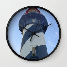 saint augustine lighthouse photography Wall Clock