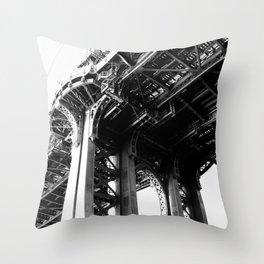 Manhattan Bridge 2 Throw Pillow