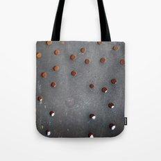 Antique skimmer holes Tote Bag