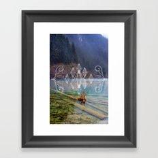 Jiuzhaigou Framed Art Print