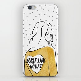 Just Like Honey iPhone Skin