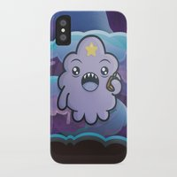lumpy space princess iPhone & iPod Cases featuring Kawaii Lumpy Space by Squid&Pig