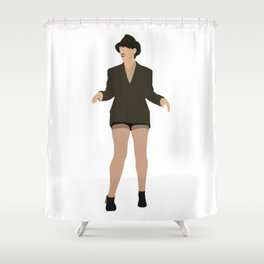 Val from Broad City Shower Curtain