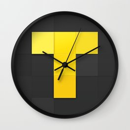 TV Time Logo Wall Clock
