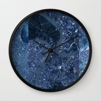 thailand Wall Clocks featuring Bangkok Thailand by LERN