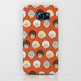 The Golden Girls Orange Pop Art iPhone Case