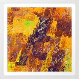 Pillow #6 Art Print