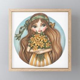 Daffodils Framed Mini Art Print