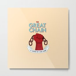 The Great Chain Metal Print