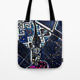 Cosmic Kitty Tote Bag