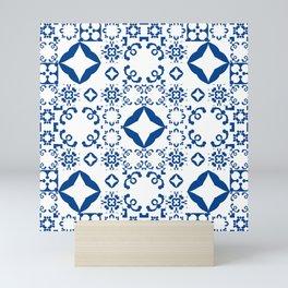 Moroccan pattern Mini Art Print
