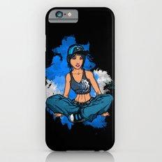 Headphone girl iPhone 6s Slim Case