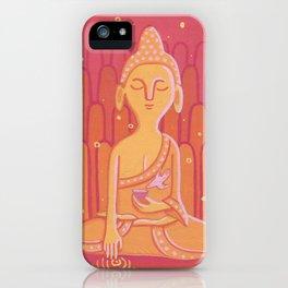 Buddha E iPhone Case