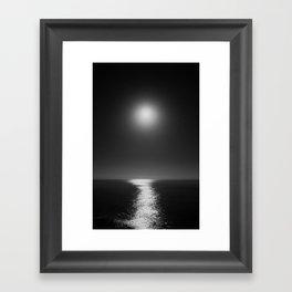 Moonlight Mist Framed Art Print