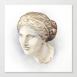 Aphrodite of Cnidus Canvas Print
