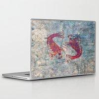 koi Laptop & iPad Skins featuring Koi by Vitta