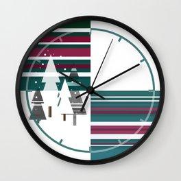 Christllax, the Pre-Xmas Art Wall Clock