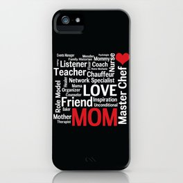 World's Best Mom iPhone Case