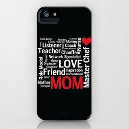 World's Best Mom iPhone Case