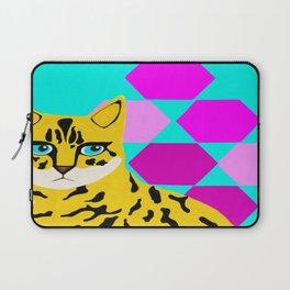 Bengal & Hexagons Laptop Sleeve