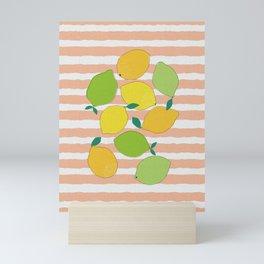 Citrus Crowd Mini Art Print
