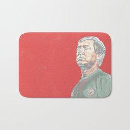 Alex Ferguson red Bath Mat