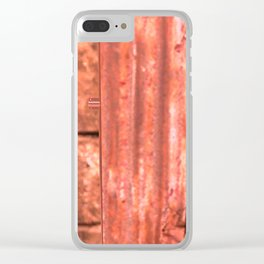 Childhood of humankind: Lock from the future Clear iPhone Case