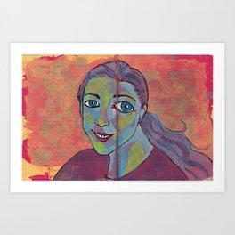 My Weird; My Empowerment Art Print