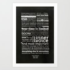 Think Different Art Print