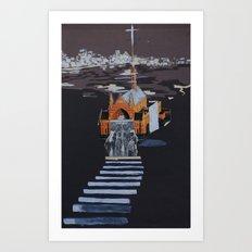 chur$h Art Print